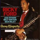 RICKY FORD Ebony Rhapsody album cover