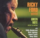 RICKY FORD Green Note - Live at La Fenêtre album cover