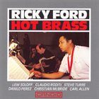 RICKY FORD Hot Brass album cover