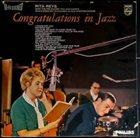RITA REYS Congratulations In Jazz album cover