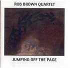 ROB BROWN Jumping Off The Page album cover