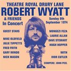 ROBERT WYATT Theatre Royal Drury Lane album cover
