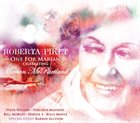 ROBERTA PIKET One For Marian - Celebrating Marian McPartland album cover