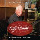 ROGER DAVIDSON Live at Caffe Vivaldi Vol. 3 album cover