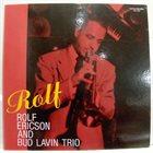 ROLF ERICSON Rolf Ericson & Bud Lavin Trio album cover