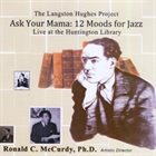 RON MCCURDY The Langston Hughes Project : Ask Your Mama - 12 Moods for Jazz album cover