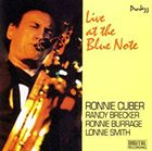 RONNIE CUBER Live At The Blue Note album cover