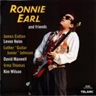 RONNIE EARL Ronnie Earl And Friends album cover