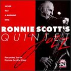 RONNIE SCOTT Never Pat a Burning Dog album cover