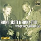 RONNIE SCOTT The Night Has A Thousand Eyes (with Sonny Stitt) album cover