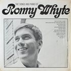 RONNIE WHYTE The Songs And Piano Of Ronny Whyte album cover