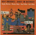 ROY BROOKS Duet in Detroit album cover