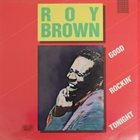 ROY BROWN Good Rockin' Tonight album cover