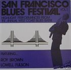 ROY BROWN Roy Brown / Lowell Fulson ‎: San Francisco Blues Festival, Vol.1 album cover