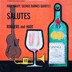 RUBY BRAFF Braff/Barnes Quartet Salutes Rodgers And Hart album cover