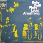 RUBY BRAFF Plays Louis Armstrong album cover