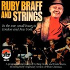RUBY BRAFF Ruby Braff and Strings album cover