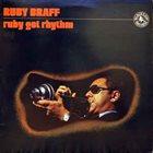 RUBY BRAFF Ruby Got Rhythm album cover