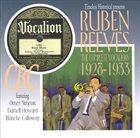 REUBEN REEVES Complete Vocalions 1928-1933 album cover