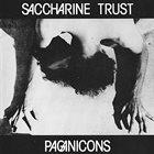 SACCHARINE TRUST Paganicons album cover