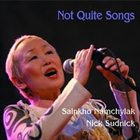 SAINKHO NAMTCHYLAK Not Quite Songs (with Nick Sudnick) album cover