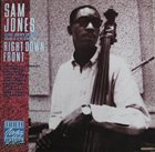 SAM JONES Right Down Front:The Riverside Collection album cover