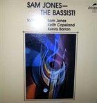 SAM JONES The Bassist! album cover