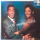 SAMMY DAVIS JR Boy Meets Girl album cover