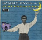 SAMMY DAVIS JR Just for Lovers album cover