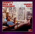 SAMMY DAVIS JR Sammy's Back on Broadway album cover