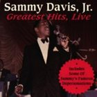 SAMMY DAVIS JR Greatest Hits, Live album cover