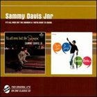 SAMMY DAVIS JR It's All Over but the Swingin' / I Gotta Right to Swing! album cover