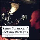SAMO ŠALAMON Samo Salamon, Stefano Battaglia : Pure Magic album cover