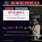 SARAH VAUGHAN After Hours at the London House album cover