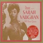 SARAH VAUGHAN All Time Greats album cover