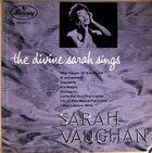 SARAH VAUGHAN The Divine Sarah Sings album cover