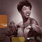 SARAH VAUGHAN First Class Jazz album cover