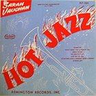 SARAH VAUGHAN Hot Jazz album cover