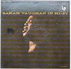 SARAH VAUGHAN In Hi-Fi album cover