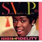 SARAH VAUGHAN Jazz in Paris Collector's Edition: Sarah Vaughan à Paris album cover