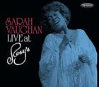 SARAH VAUGHAN Live at Rosy's album cover