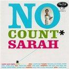 SARAH VAUGHAN No Count Sarah album cover