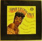 SARAH VAUGHAN Sarah Vaughan Sings album cover
