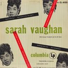 SARAH VAUGHAN Sarah Vaughan With George Treadwell And His All Stars album cover