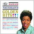 SARAH VAUGHAN Sarah Vaughan's Golden Hits!!! album cover