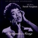 SARAH VAUGHAN September Song album cover