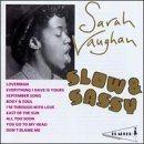 SARAH VAUGHAN Slow & Sassy album cover