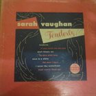 SARAH VAUGHAN Tenderly album cover