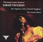 SARAH VAUGHAN The Benny Carter Sessions album cover