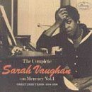 SARAH VAUGHAN The Complete Sarah Vaughan on Mercury, Volume 1: Great Jazz Years: 1954-1956 album cover